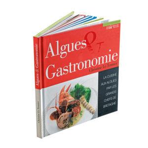 livre recettes algues et gastronomie